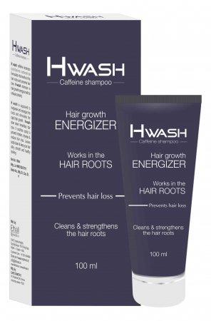 H Wash. Шампунь с кофеином Стимулирующий рост волос и предотвращающий их выпадение