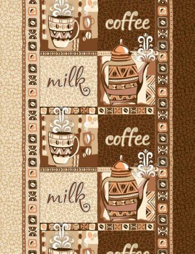Полотенце ваф. Кофе, 40*50