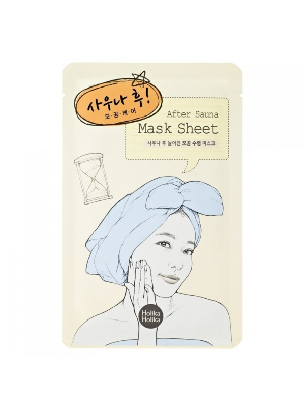 """Тканевая маска для лица \""""После\"""" После сауны"""