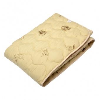 """123 Одеяло Premium Soft \""""Летнее\"""" Camel Wool (верблюжья шерсть)"""