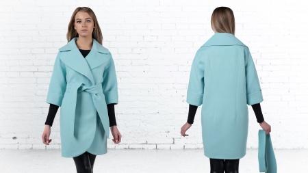 Пальто демисезонное женское П-4371