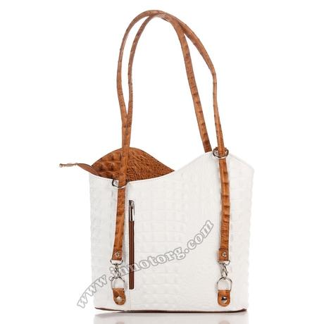 сумка LC0063-30 Panna/Cuoio