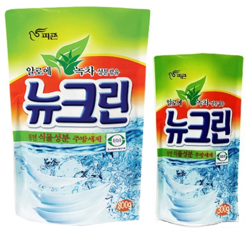 141102 PIGEON Жидкость для мытья посуды, овощей и фруктов, с экстрактом алоэ и зелёного чая, запасной блок, 800 мл