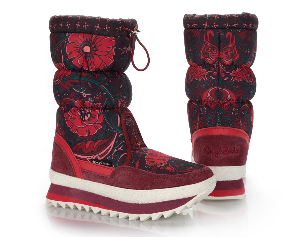 2018_Сапоги женские KB583RT Rot Красный KING BOOTS Германия