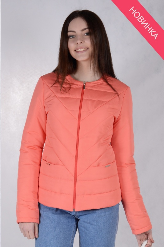 Куртка женская 73440 коралл