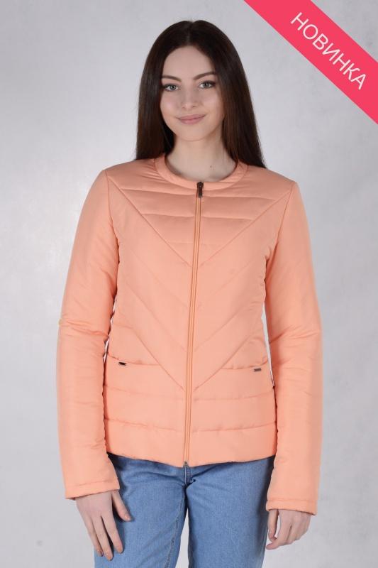 Куртка женская 73440 персик