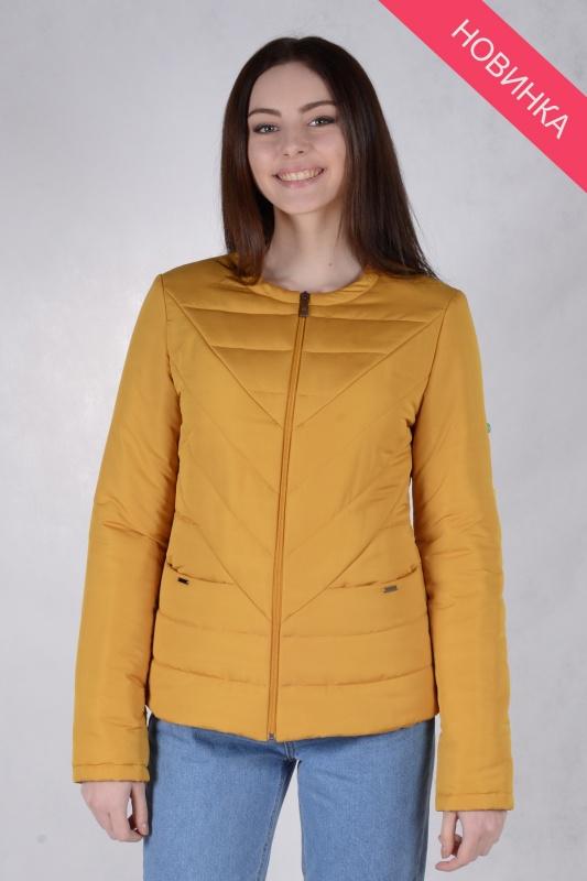 Куртка женская 73440 горчица