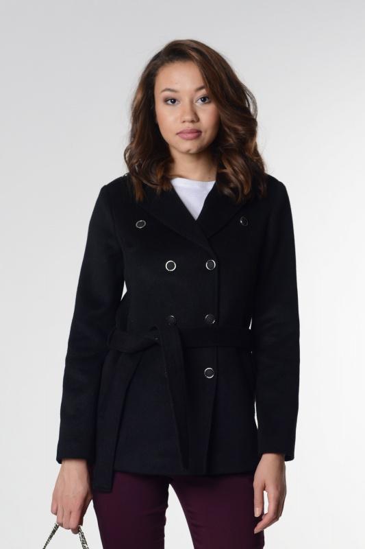 Пальто 63416 черный