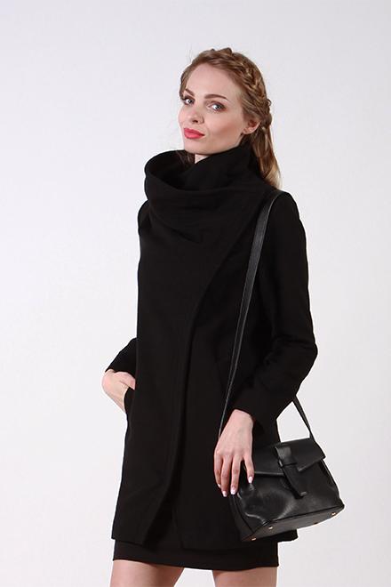 Пальто 63356 черный
