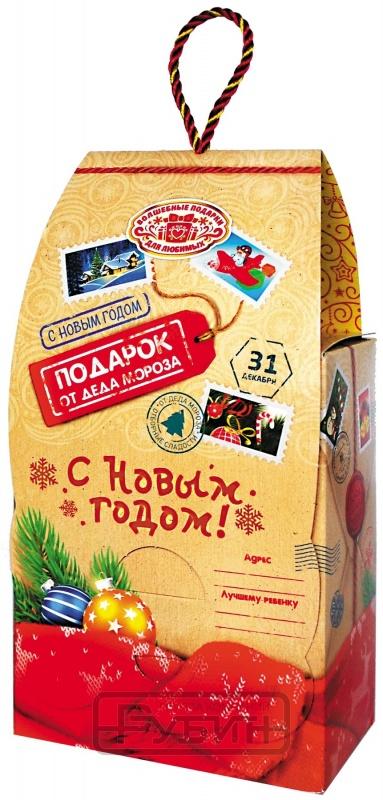 Новогодний подарок Забота (картон, 250 г)