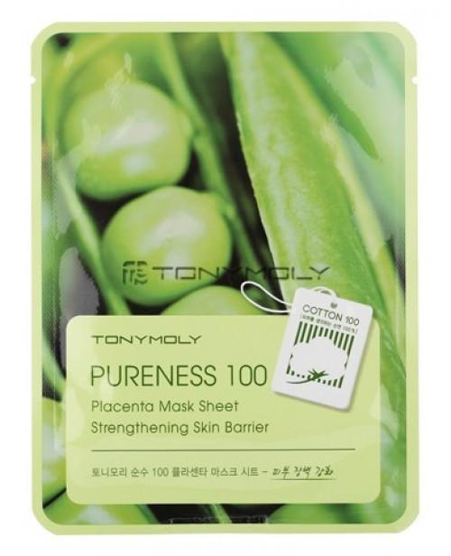 Маска для лица тканевая плацентарная Pureness 100 Placenta Mask Sheet