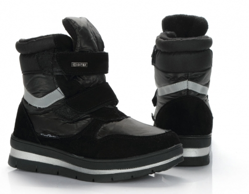 Сапоги детские KB509GR Grau Серый KING BOOTS Германия