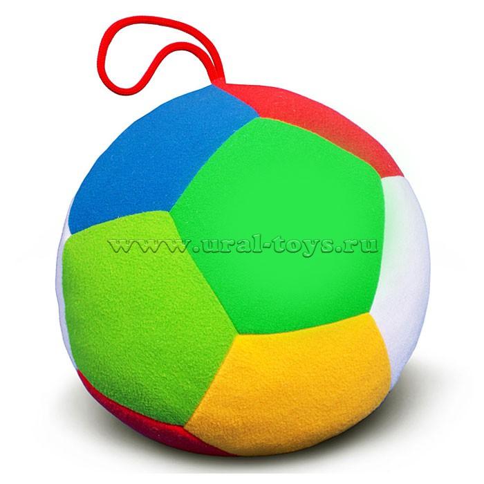 Мяч большой с погремушкой Футбол