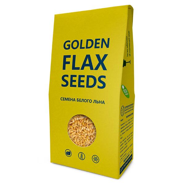 Семена  белого льна 150 г (Golden Flax Seeds)