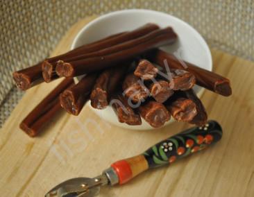 Колбаски из икры морских рыб 1кг(заказ от 0,25кг)