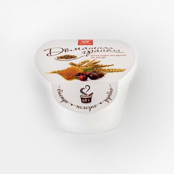 Гранола фруктово-ягодная на меду. 60 г