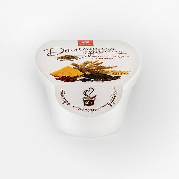 Гранола фруктово-ягодная с кэробом,60 г