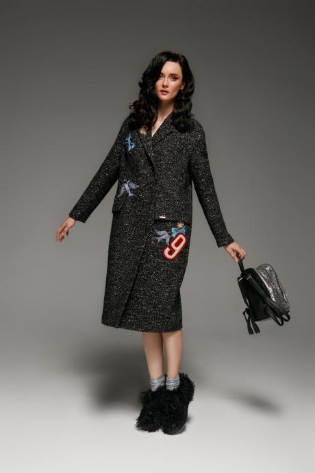 Пальто Prestige 3167 черный