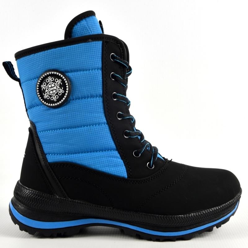 Aowei Ботинки зимние женские  Артикул: OM-B2616-10-BLACK