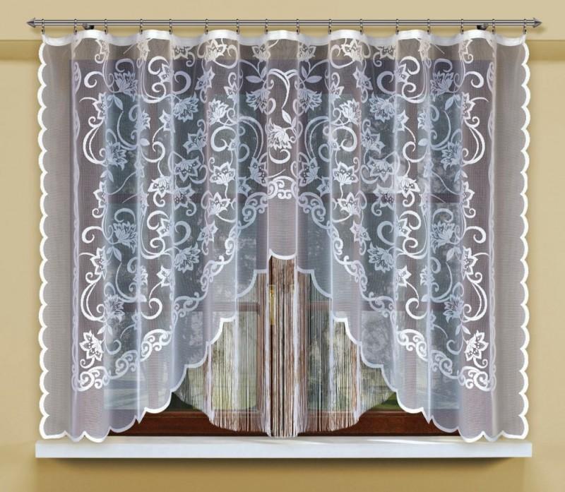 Штора-арка для кухни из жакарда 207091/170