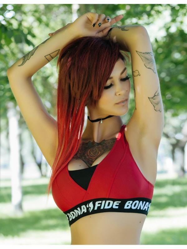 "Bona Fide: Bermud \""Dark Red\""  Bona Fide"