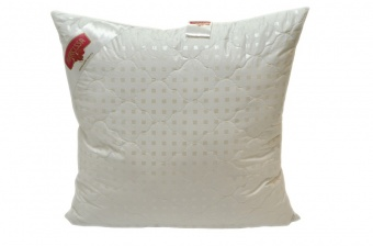 "342 Подушка Premium Soft ""Комфорт"" Down Fill (лебяжий пух, без молнии) 70*70 см"