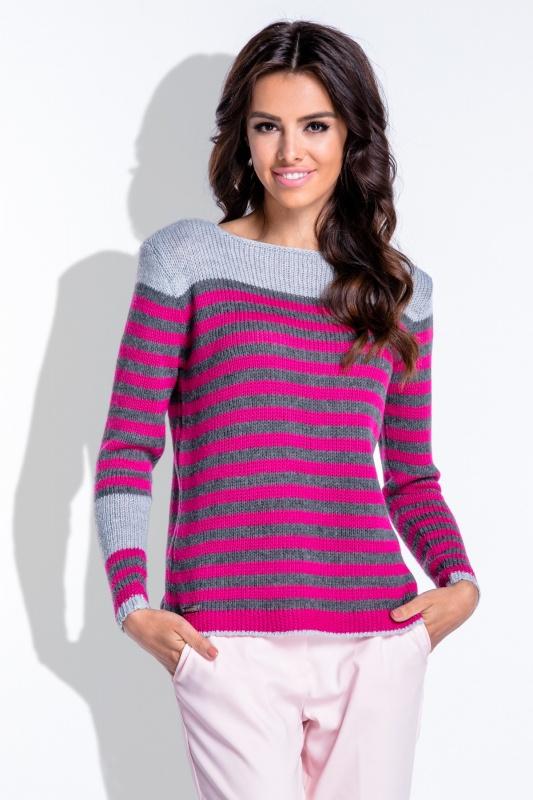 Fobya F422 свитер серый