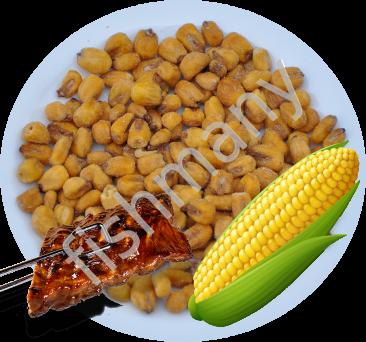 Жареная кукуруза со вкусом БАРБЕКЮ 1кг, заказ от 250г