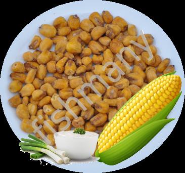 Жареная кукуруза со вкусом ЛУКА и СМЕТАНЫ 1кг, заказ от 250г