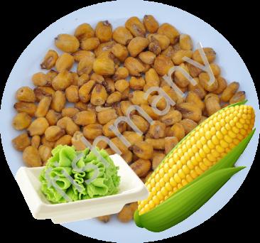 Жареная кукуруза со вкусом ВАСАБИ 1кг, заказ от 250г