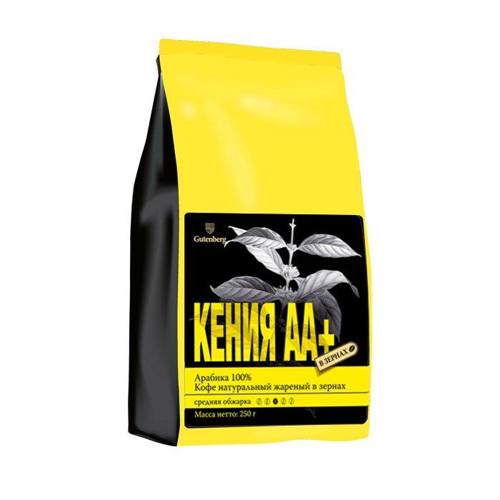 1119-250 Кофе в зернах Кения АА+ 250 г