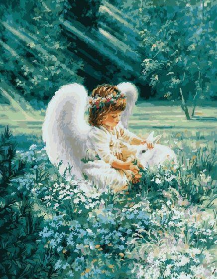 GX8484 Ангел в лучах солнца