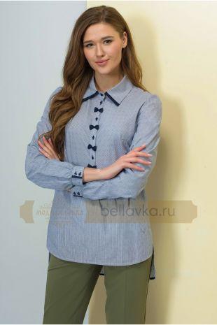 Блуза Golden Valley 2155 синяя полоска