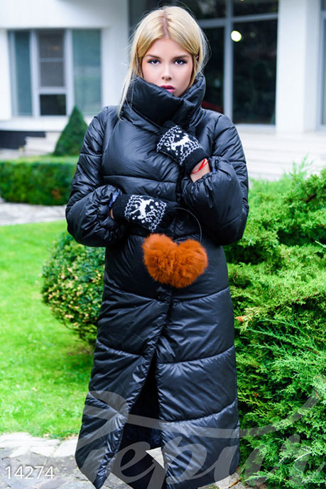 Penthouse Объемное стеганое пальто