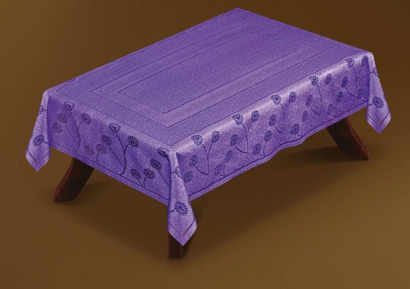 221570/105, прямоугольная, 105х160 см, цвет: фиолет
