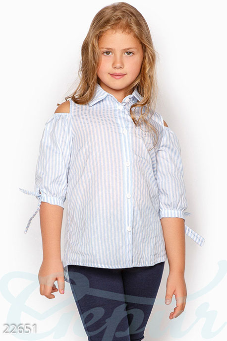 School Детская школьная рубашка