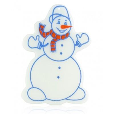 """Подвеска \""""Снеговик светящийся\"""""""