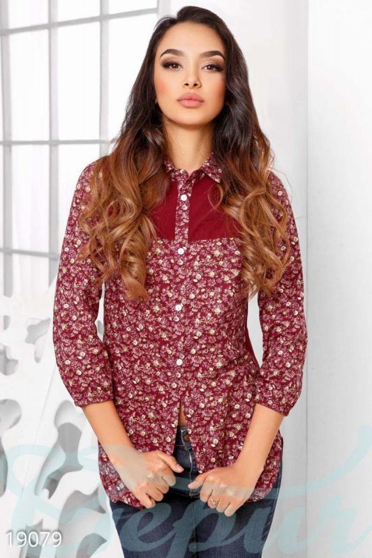 Winter garden Стильная оригинальная блуза