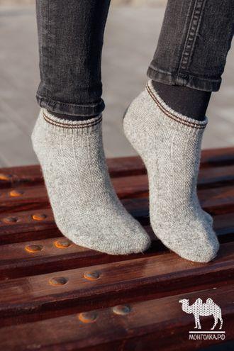 Носки спортивные из шерсти яка