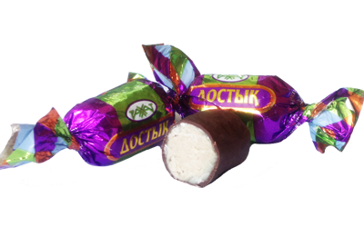 Карамель Достык глазир. 1,0 кг (Рахат)