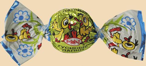 Карамель Га-га-га (Гусиные лапки) 1,0 кг (РАХАТ)