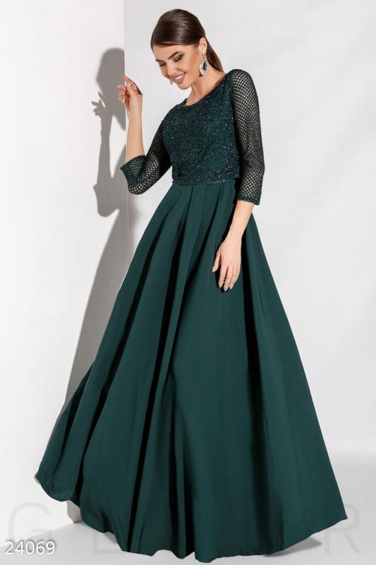 Вечернее платье болеро