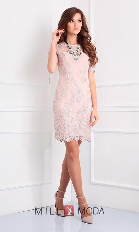 Платье Ксения Стиль 1438 беж