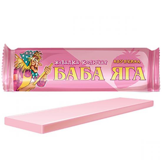 Жев. конфета Баба Яга клубника 11г  «Сладкая сказка» ι Россия