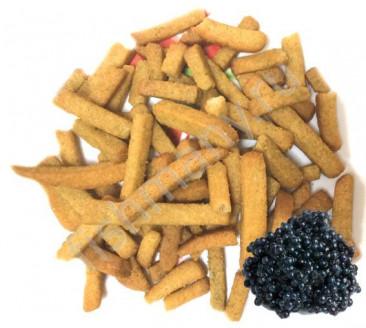 Гренки пшеничные со вкусом черной икры 1кг, заказ от 250г