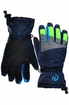 Перчатки подростк. мал. HANDAI HD-9014 т.синий