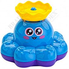 """Игрушка детская для ванны \""""ФОНТАН-ОСЬМИНОЖКА\"""" голубой Bradex DE 0225"""
