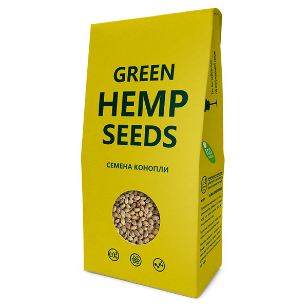 Семена  конопли 150 г (Green Hamp Seeds)