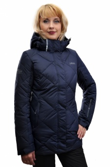 Куртка жен. ср. длина (утепл. Thinsulate) HIGH EXPERIENCE 7421 т.синий