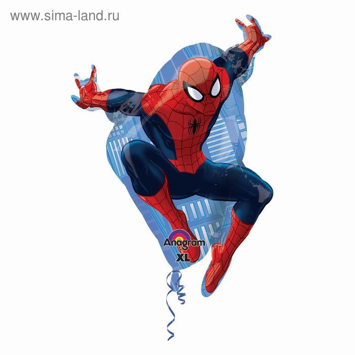"""Шар фольгированный \""""Человек паук в прыжке\"""" 29\"""" АГ"""